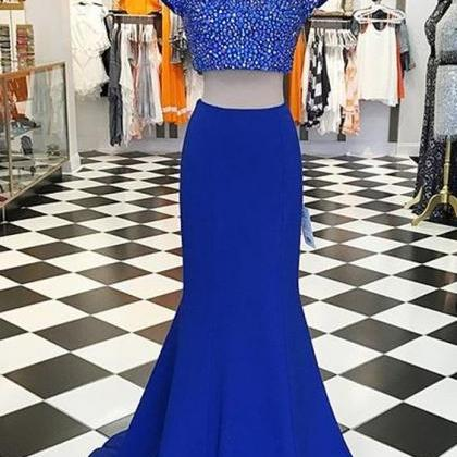 Modern Two Piece Prom Dress, Short ..