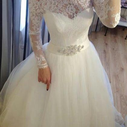 Charming Wedding Dress, Short Weddi..