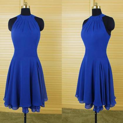 Handmade Elegant Simple Royal Blue ..