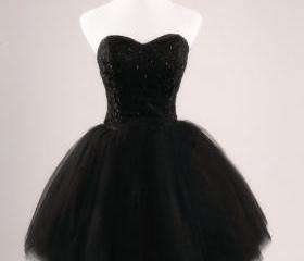 Black Prom Dress Str..
