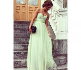 Mint Sweetheart Prom..