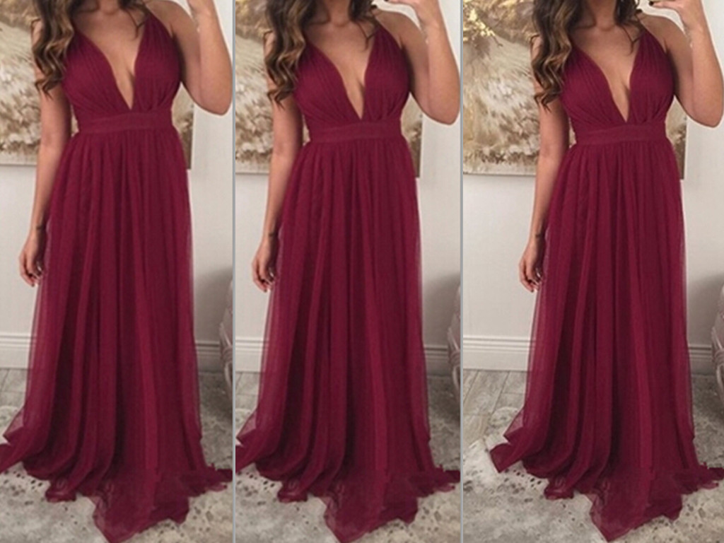28afdab85f5 Burgundy Bridesmaid Dresses Chiffon - Data Dynamic AG