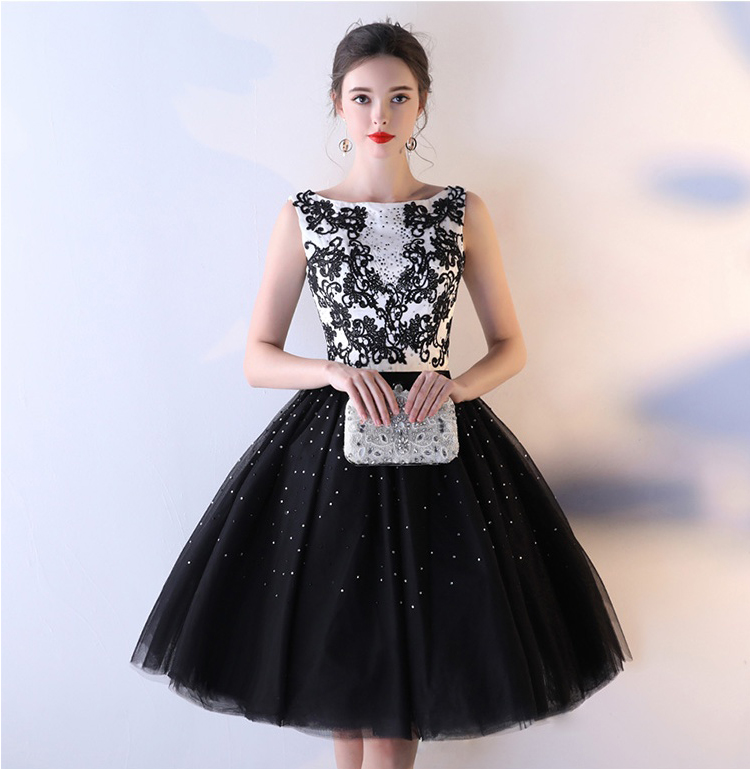 230fb616c26 Black And White Homecoming Dresses