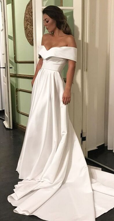 Gorgeous Prom Dresses,Long Prom Dresses,White Prom Dresses,Simple Prom  Dresses,Princess Dresses,Women Dresses,Cheap Prom Dresses,Modest Evening ...