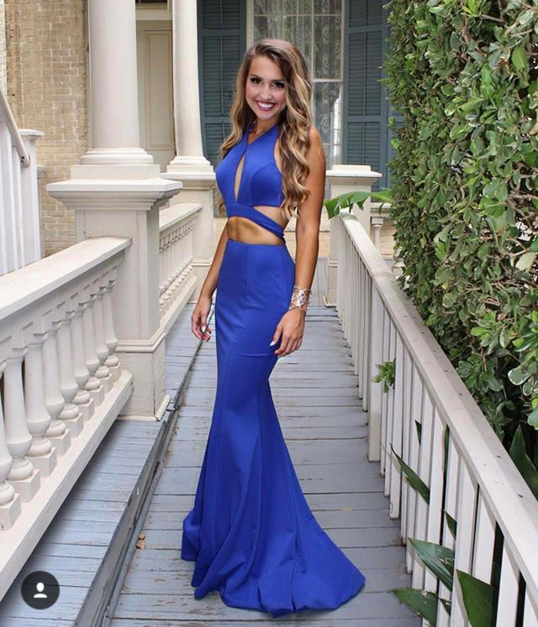 c15aef25e2 Royal Blue Mermaid Prom Dress