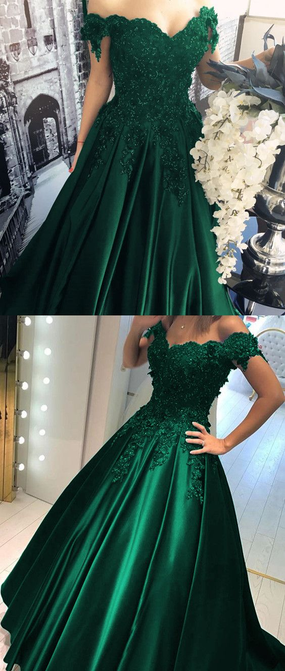 ed002793bcf4 Sexy Prom Gowns,Prom Dress,Long rom Dresses,Hunter Green Evening Dress,