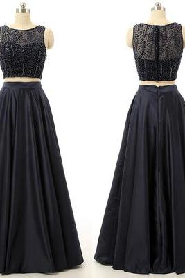Charming Prom Dress,Sleeveless Formal Evening Dress,Formal Gown