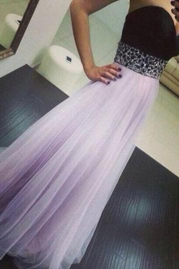 Empire Prom Dresses,Tulle Occasion Dresses,Lavender Evening Party Dresses,Tulle Graduation Dresses