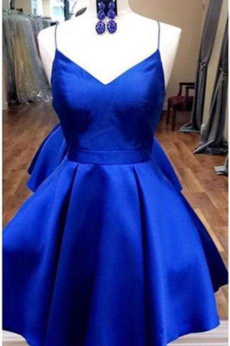 Royal Blue Homecoming Dresses,Short Homecoming Dress,Cute Dresses,Fashion Homecoming Dresses