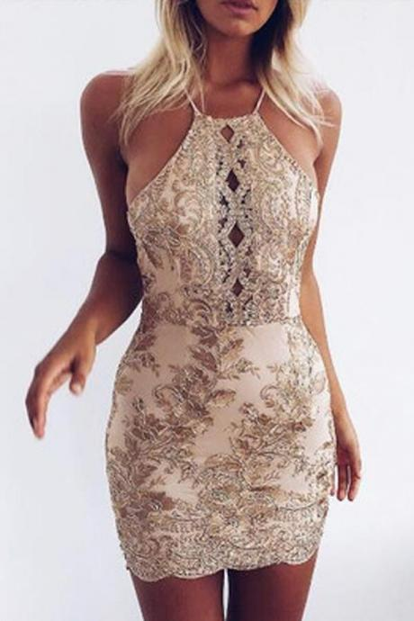 Mermaid Homecoming Dress,Cute Homecoming Dresses,Backless Homecoming Dress,Homecoming Dresses