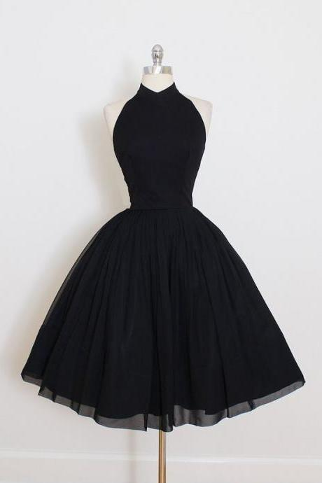 Homecoming Dresses,Vintage Homecoming Dresses,Black Homecoming Dresses,Sweet 16 Dresses,Simple Homecoming Dresses,Cheap Homecoming Dress,Halter Homecoming Dresses Cocktail Dresses