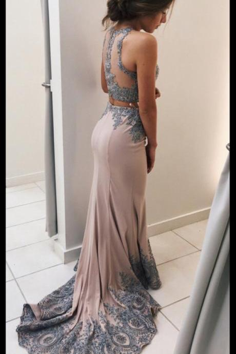 Prom Dresses For Teens,Pink Prom Dress,Mermaid Prom Dresses,Evening Dresses,Prom Dress,Modest Prom Gowns,Two Pieces Prom Dress,Women Dresses