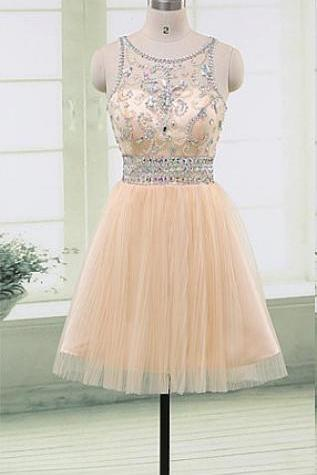 Cap Sleeves Beading Short Homecoming Dresses,Pretty Sparkly Homecoming Dress,Modest Graduation Dress,Cocktail Dresses,Homecoming Dress