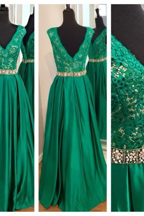 Prom Dress,Appliques Prom Dresses, Spaghetti straps V-Neck Floor-Length Evening Dresses, Real Made Prom Dresses,Chiffon Sequins Evening Dresses, Charming Prom Dresses,