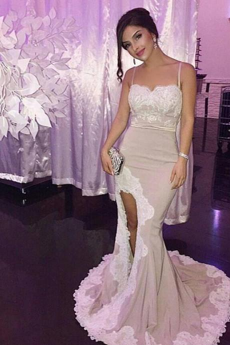 Mermaid Lace Prom Dress,Long Prom Dresses,Prom Dresses,Evening Dress, Prom Gowns, Formal Women Dress,prom dress