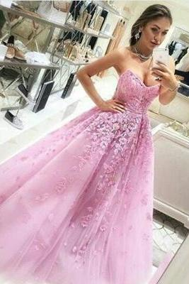 Modest Quinceanera Dress,Applique Ball Gown,Sweetheart Prom Dress,Fashion Prom Dress,Sexy Party Dress, New Style Evening Dress, Formal Dress
