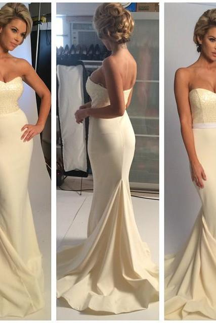 Wedding Dress, Charming Wedding Dress,Backless Mermaid Wedding Dresses,Long Evening Dress,Sexy Prom Party Gown ,Wedding Gowns,High Quality Bridal Dresses,Wedding Guest Prom Gowns, Formal Occasion Dresses,Formal Dress
