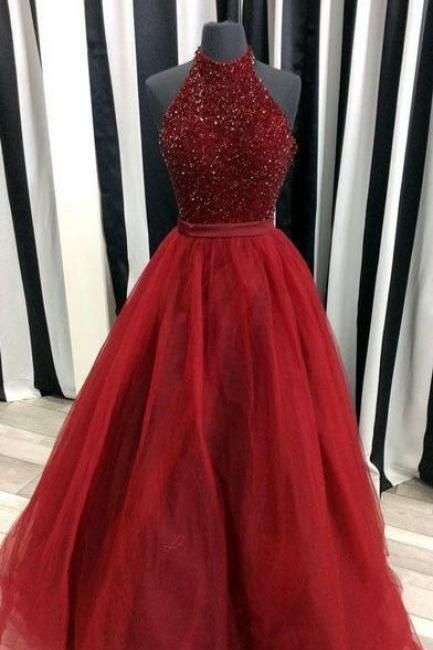 Charming Prom Dress,Beading Prom Dress,Organza Prom Dress,Ball Gown Prom Dress ,High Quality