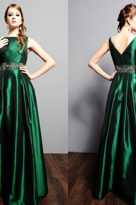V Back Long Prom Dress,Prom Dress,Evening Gown,Floor Length Long Prom Dresses