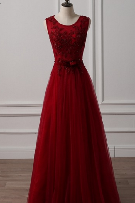 Burgundy evening gown, a dress skirt, a tuxedo, a tight evening dress,Long Prom Dress