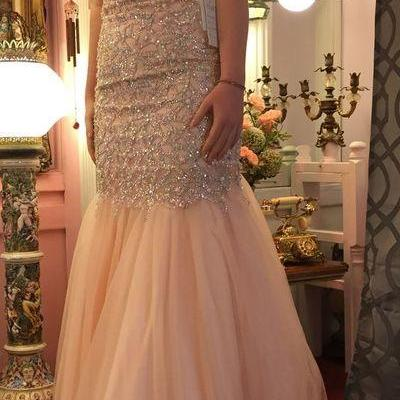Charming Prom Dress,Sequin Prom Dress,Sweetheart Prom Dress,Mermaid Prom Dress