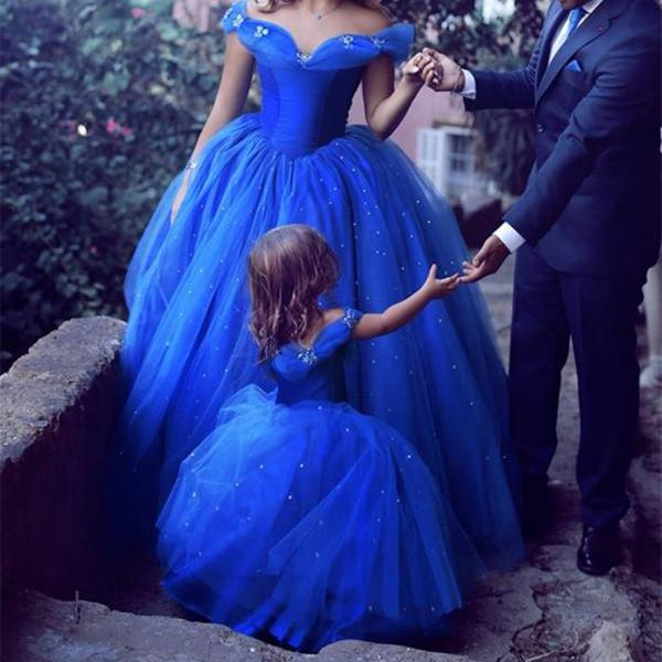 royal blue ball gowns quinceanera dress unique wedding dress, Royal Blue Prom Dress