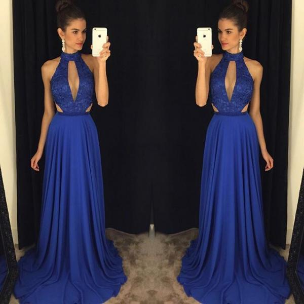 Charming Prom Dress,Sleevelss A Line Prom Dress,Tulle Prom Dresses,Long Evening Dress