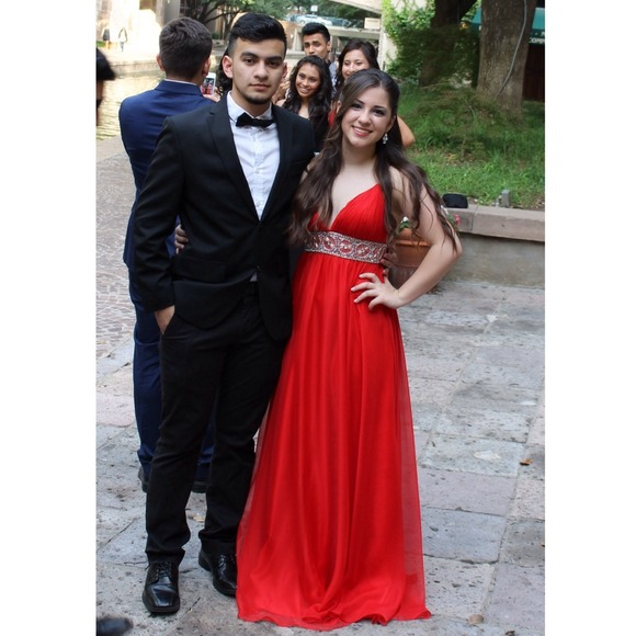 Prom Dresses Sexy Red Beads Crystal Backless Chiffon Backless Long Evening Dresses Formal Dress Prom Dress Evening Gowns