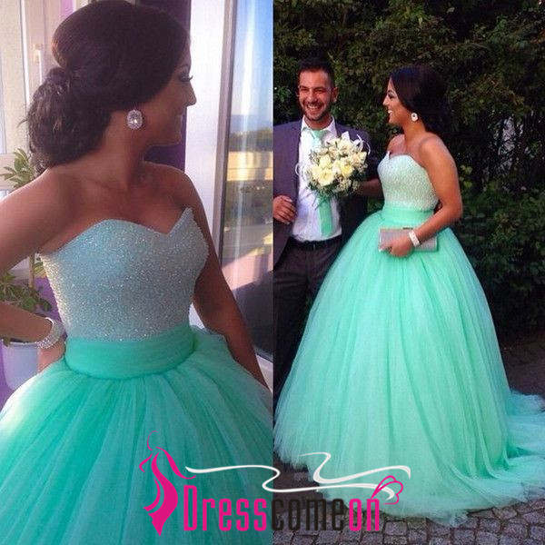 Real Made Sweetheart Beading Princess Quinceanera Dresses, Lace-Up Tulle Dresses, Quinceanera Dresses, Prom Dresses,Tulle Prom Dress