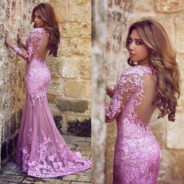 Backless prom dresses,Mermaid Prom Dress,Lace Prom Gown,Sexy Party Dresses,fashion evening gowns,long prom dress for teens girls